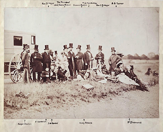 Members Outing in 1856